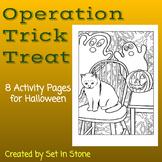 Halloween Trick or Treat Activities