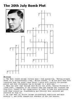 Operation Valkyrie - Crossword