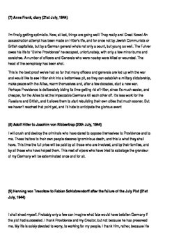 Operation Valkyrie Evidence and Sources