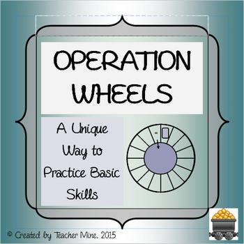 Operation Wheels: Practice Basic Skills