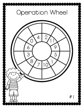 Operation Wheels for Basic Fact Practice