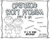 Operation Word Problems [Choose the Right Operation!]
