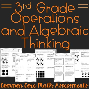 Operations and Algebraic Thinking 3rd Grade Common Core As