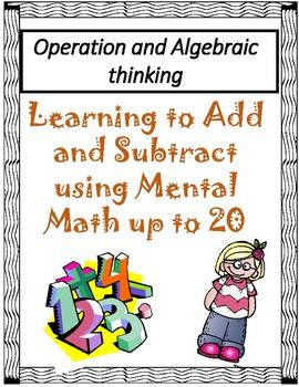 Operation and Algebraic thinking