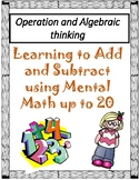 Operation and Algebraic thinking