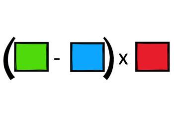 Operation rules practice数学多步骤运算规则练习