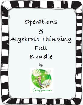 Operations & Algebraic Thinking Bundle