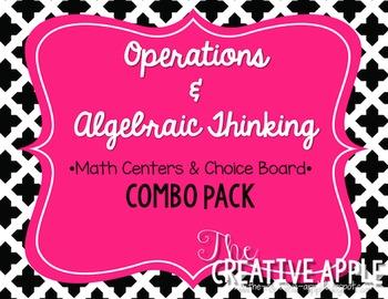 Operations & Algebraic Thinking Combo Pack