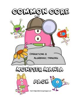Operations & Algebraic Thinking Common Core Pack