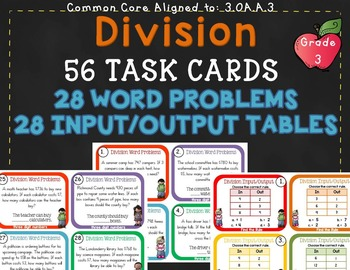 Division within 100 3rd Grade 3.OA.A.3