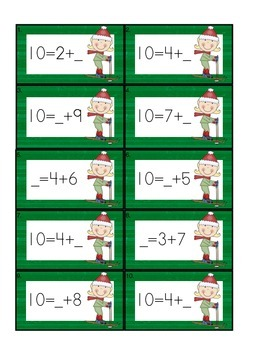 Operations & Algebraic Thinking Games, Centers, Printables for K-2