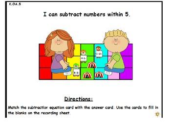 Operations & Algebraic Thinking Math Center Bundle (Common Core Aligned)