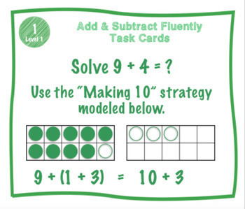 Operations & Algebraic Thinking Math Centers Bundle