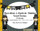Operations & Algebraic Thinking  Scoot Review for 1st Grade