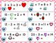 Operations & Algebraic Thinking Scoot-Valentine's Day Themed
