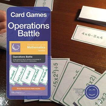 Operations Battle Card Game