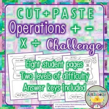 Operations Challenge Activity