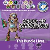 Operations, Integers & Rational Numbers -- Pre Algebra Curriculum Unit Bundle