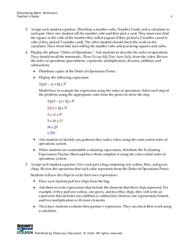 Operations on Integers and Rational Numbers Presentation