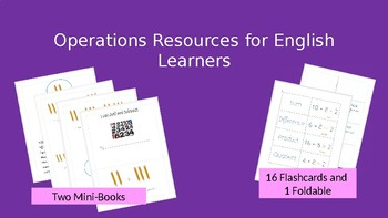 Operations Resources for English Learners