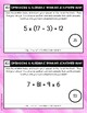 Operations Scavenger Hunt #1: Evaluating Expressions without Exponents
