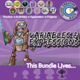 Variables & Expression -- Pre-Algebra Curriculum -- Essential Unit Bundle