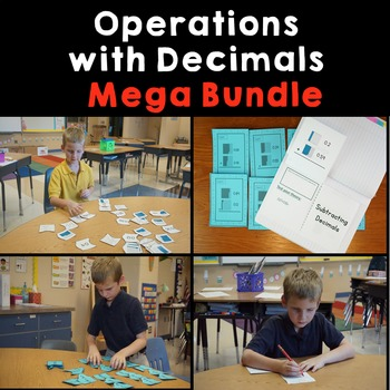 Operations WIth Decimals: Mega Bundle