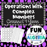 Operations With Complex Numbers Connect 4 Game