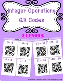 Integer Operations QR Codes