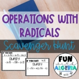 Operations With Radicals Scavenger Hunt
