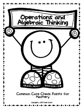 Operations and Algebraic Expressions Checkpoints