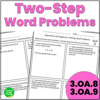 Operations and Algebraic Thinking 3rd Grade