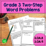 Operations and Algebraic Thinking Word Problems 3rd Grade