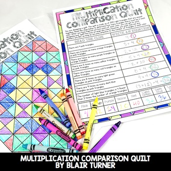 Operations and Algebraic Thinking Centers Bundle: 4th Grade Math Test Prep