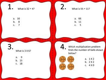 Operations and Algebraic Thinking--Common Core--Third Grade