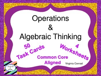 Operations and Algebraic Thinking--Common Core--Third Grade