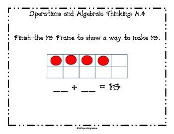 Operations and Algebraic Thinking Daily Math Questions: Common Core