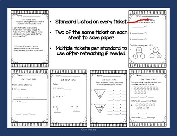 Operations and Algebraic Thinking   Check for Understanding   Formative Assess.