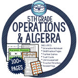 Operations and Algebraic Thinking Math Unit Grade 5 - CCSS Aligned