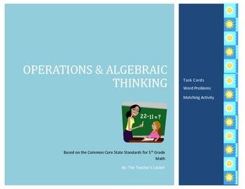 Operations and Algebraic Thinking Mini-Pack
