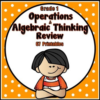 1st Grade Math Review - Operations & Algebraic Thinking Standards