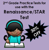 Renaissance/STAR Inspired Math Practice Tests 2nd Grade PDFs