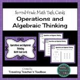 Operations and Algebraic Thinking - Second Grade Math Task Cards