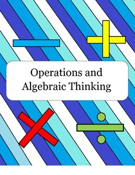 Ticket Out the Door Questions (Operations and Algebraic Thinking Common Core)