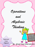 Operations and Algebraic Thinking Worksheets