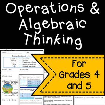 Math Worksheets for 4th and 5th Grade