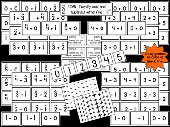 Operations and Algebraic Thinking for Kinders: Fluent within Five