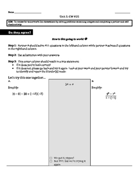 Operations and Application of Integers and Rational Numbers: Review