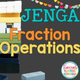 Operations of Fractions Game JENGA