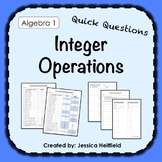 Integer Operations Activity: Fix Common Mistakes!